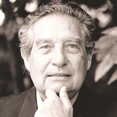 Foto de Octavio Paz de anciano
