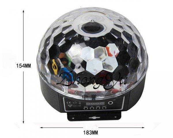 Kính thước đèn led crystal