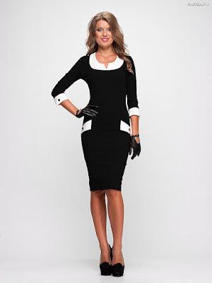 Vestidos Blanco y Negro