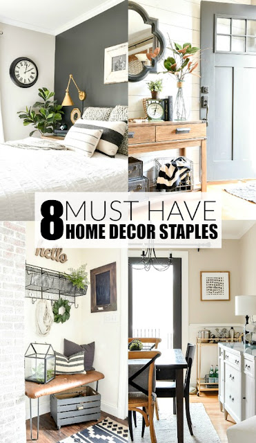8 Must By Home Decor Staples
