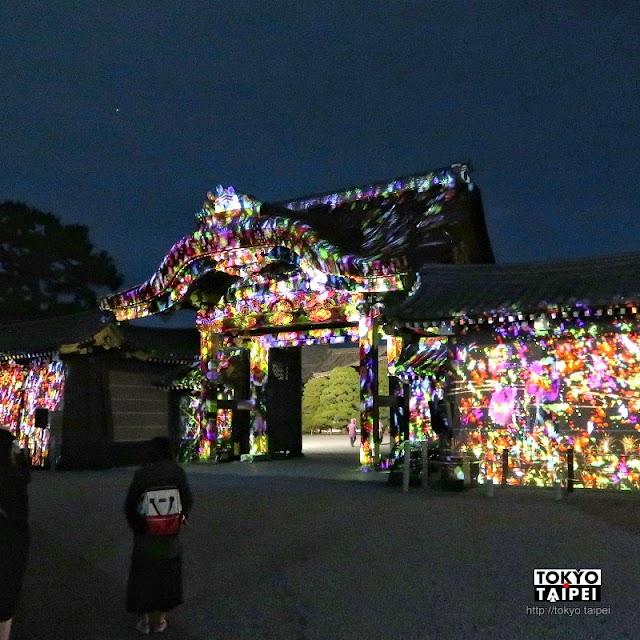 【fLOWERS BY NAKED 2019京都二條城】鳳凰飛上花開古城 世界遺產上的絕美光雕秀