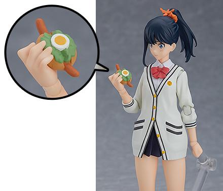 Rikka Takarada llega en su forma figma.