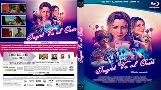 CARATULA [BLURAY] Ingrid Goes West - INGRID VA AL OESTE 2017