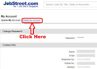 how to delete jobstreet profile