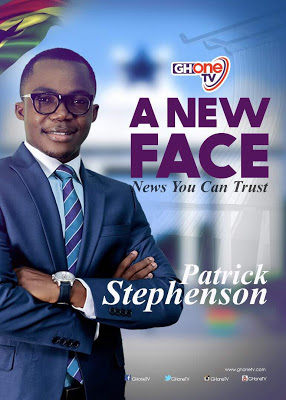 New Face Of GHOne TV's News Patrick Kwabena Stephenson