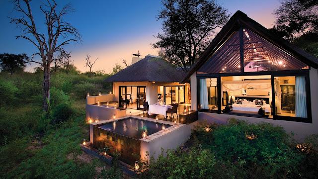 فندق وسط الغابات