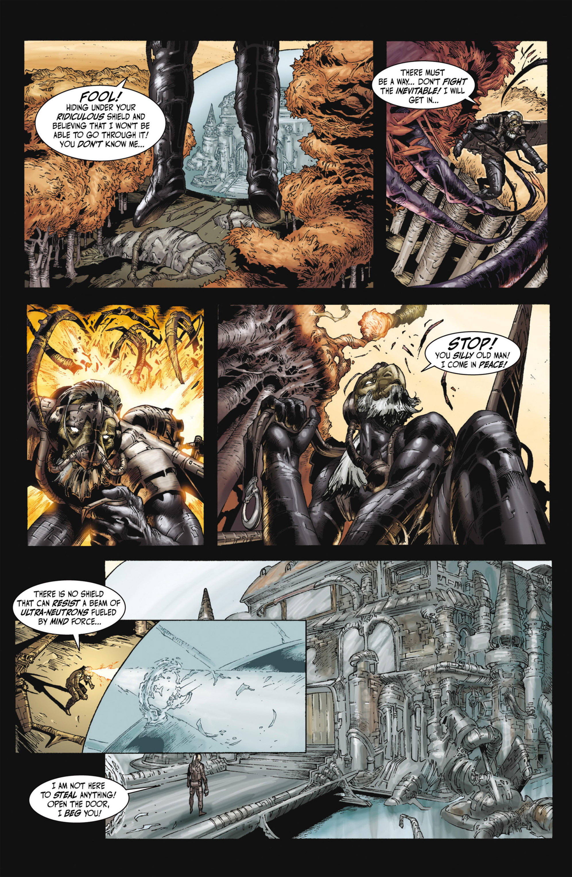 Read online Alejandro Jodorowsky's Screaming Planet comic -  Issue #2 - 40