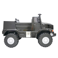 mercedes benz zetros official licensed battery toy car
