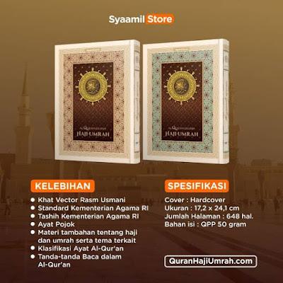 review al-quran haji dan umrah dari syaamil quran