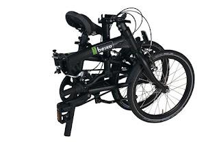 Beixo X-Town bicicleta plegable con correa de carbono