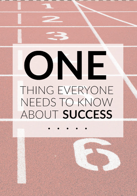 The One Thing Everyone Needs to Know About Success - Why Success Isn't a One Lane Race - Best Blogging Tips for 2017