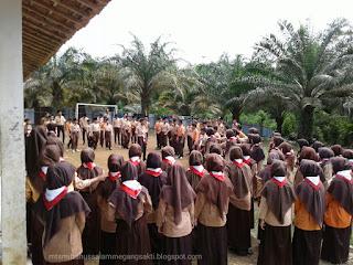 Acara Pelantikan Peserta Pramuka Mts Miftahussalam