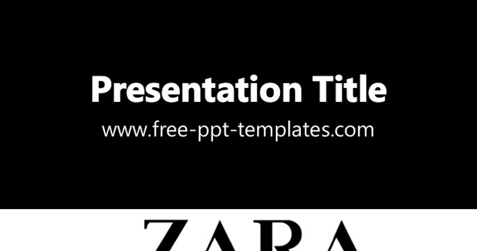 Zara ppt template toneelgroepblik Image collections
