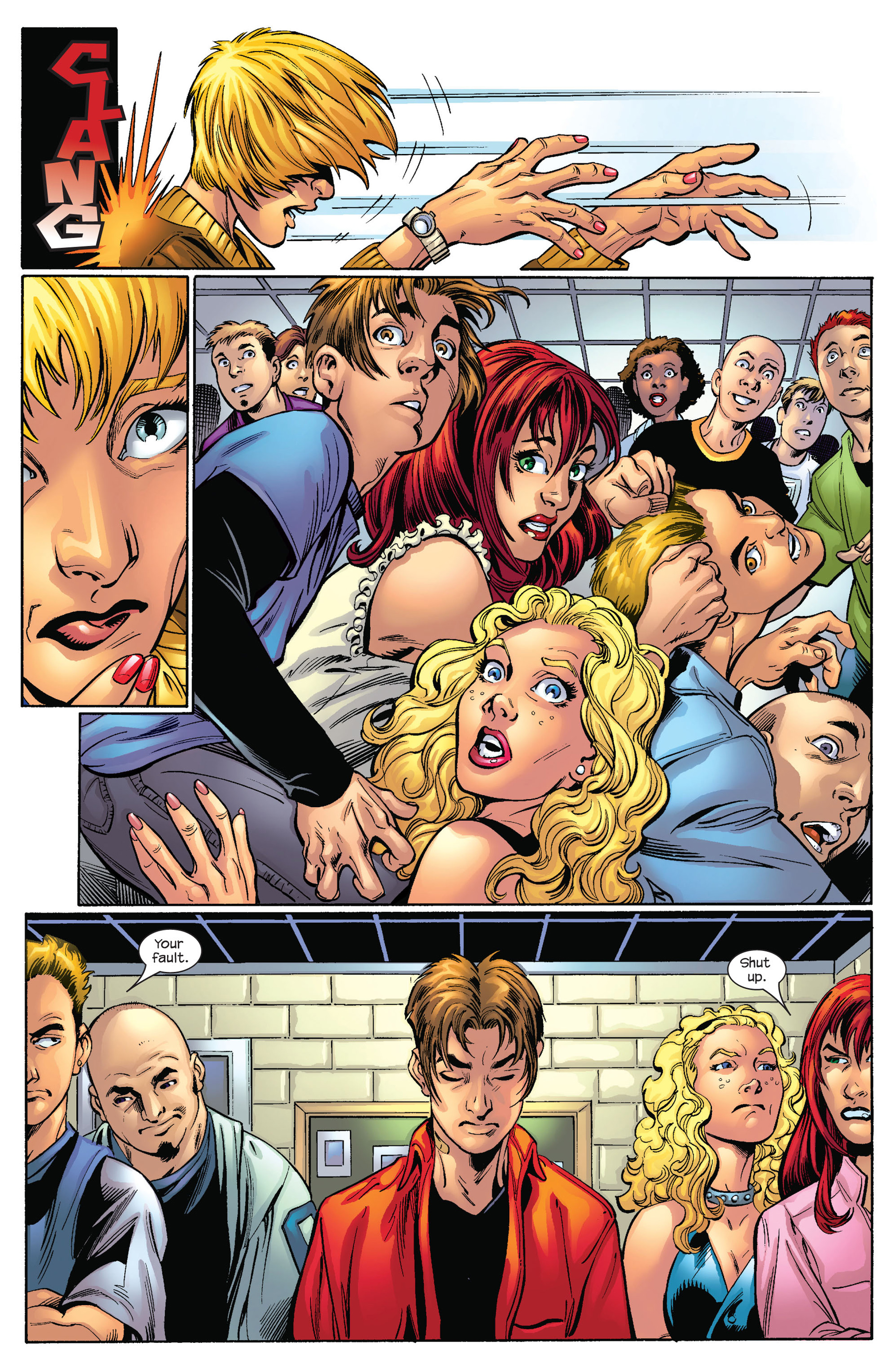 Read online Ultimate Spider-Man (2000) comic -  Issue #65 - 8