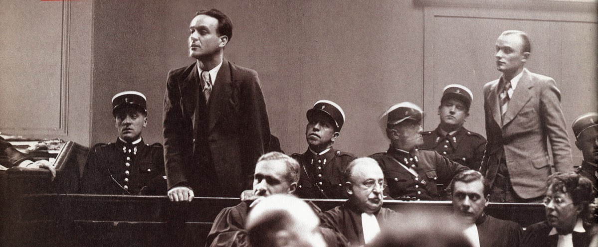 The trial of Eugene Weidmann