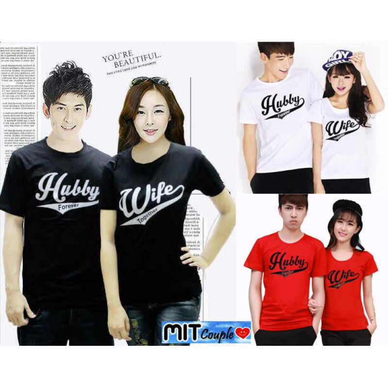 Jual Baju Couple Hubby Wife - 23896