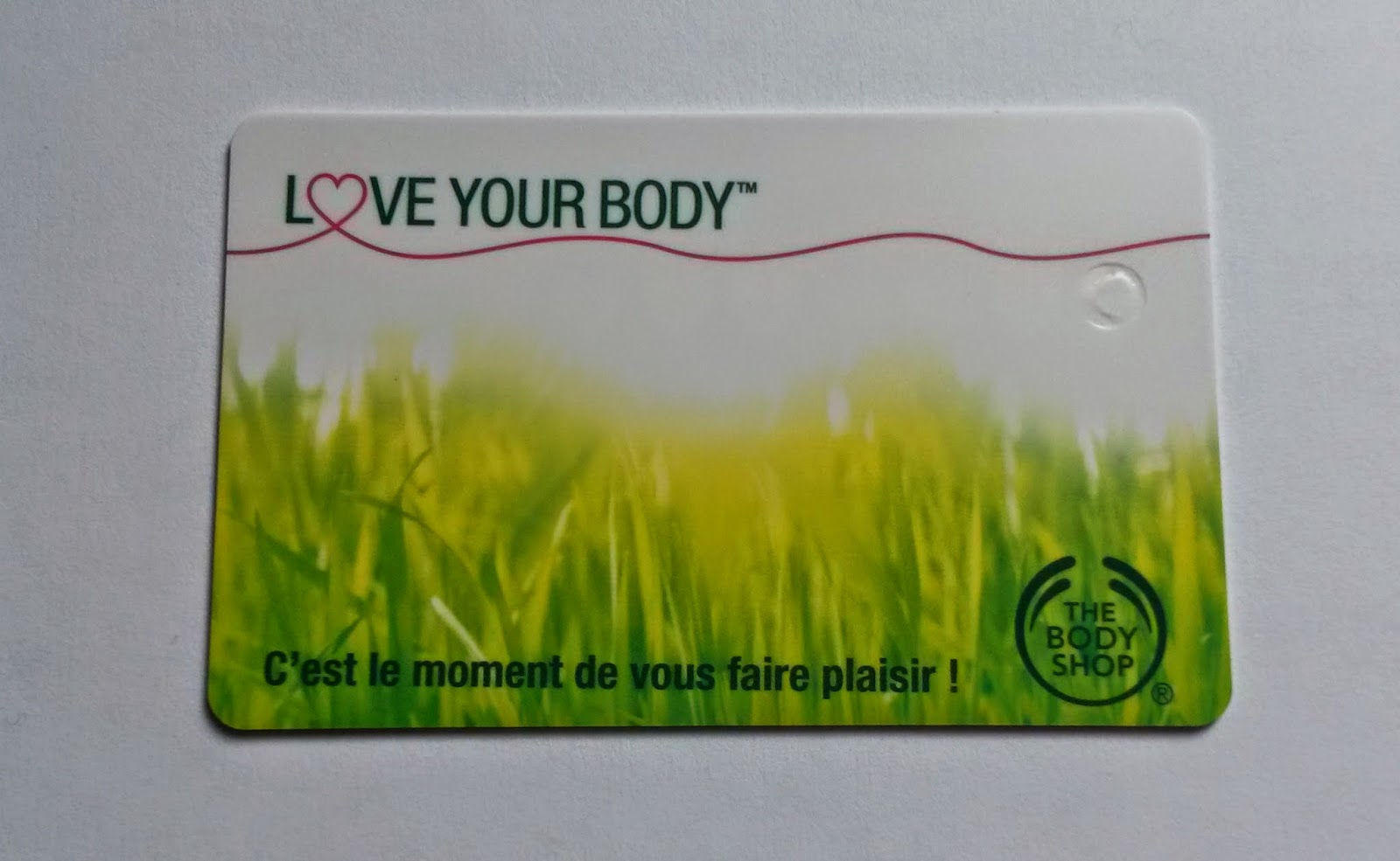 Haul The Body Shop carte TBS