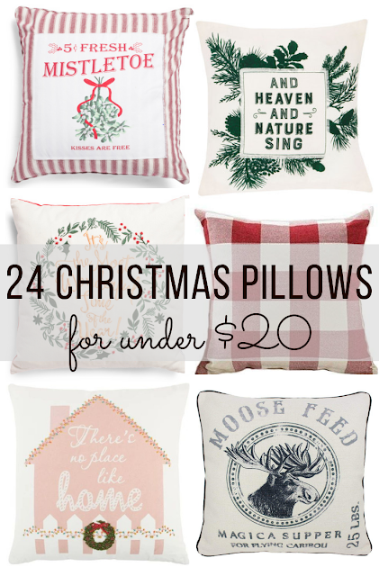 cheap affordable christmas throw pillows and covers