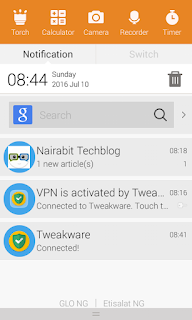 Nairabit Techblog notification