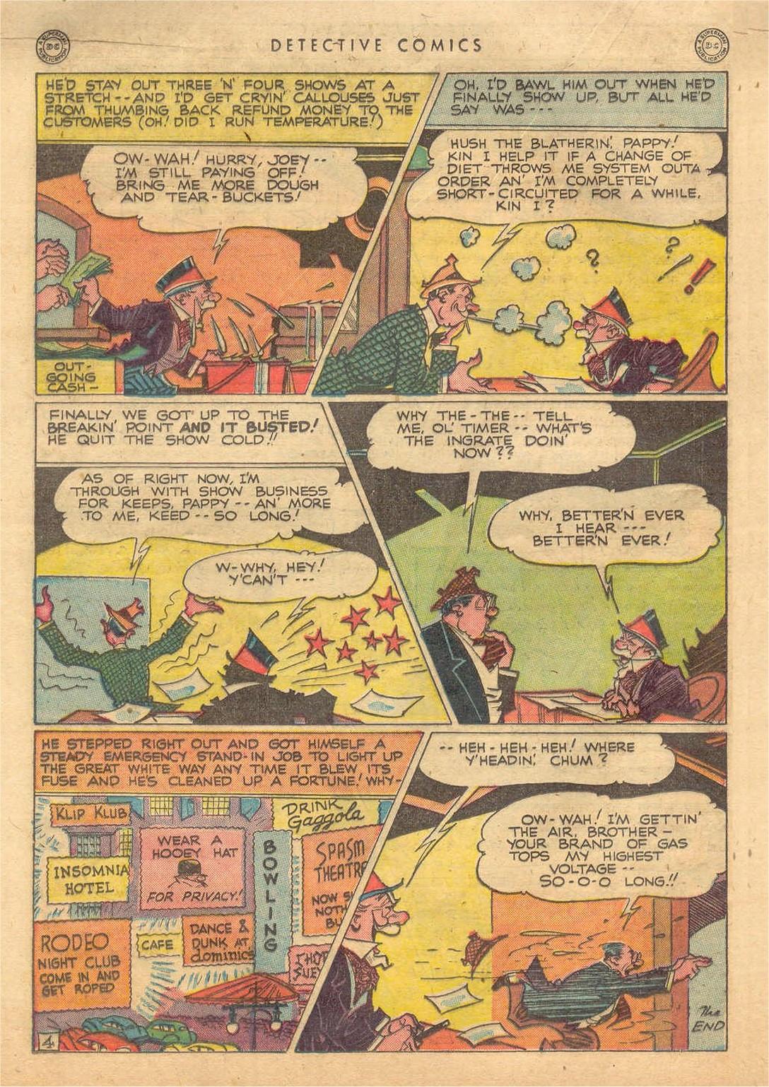 Read online Detective Comics (1937) comic -  Issue #132 - 34