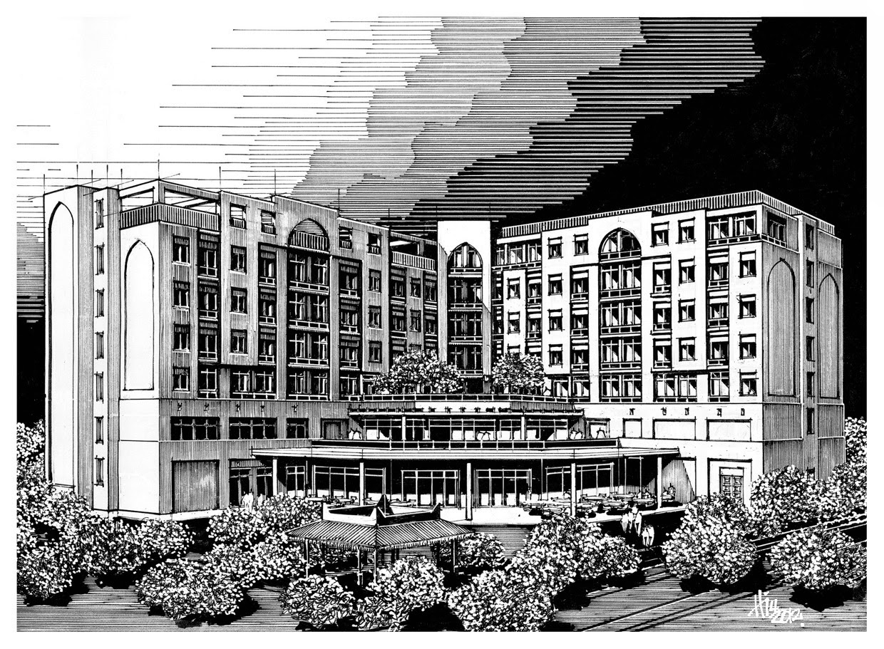 03-Paul-Hill-Pen-and-Ink-Architectural-Drawings-and-Sketches-www-designstack-co