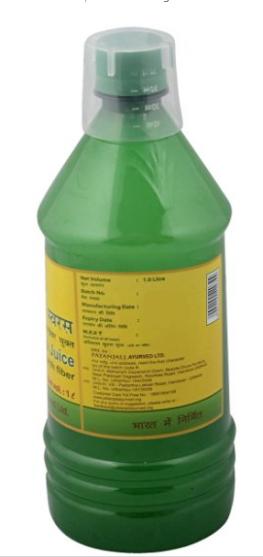 Patanjali Aloe Vera Juice Pros and Cons