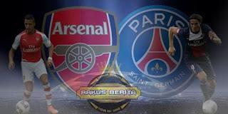 Arsenal PSG Sama-Sama Ngotot Mau Menang