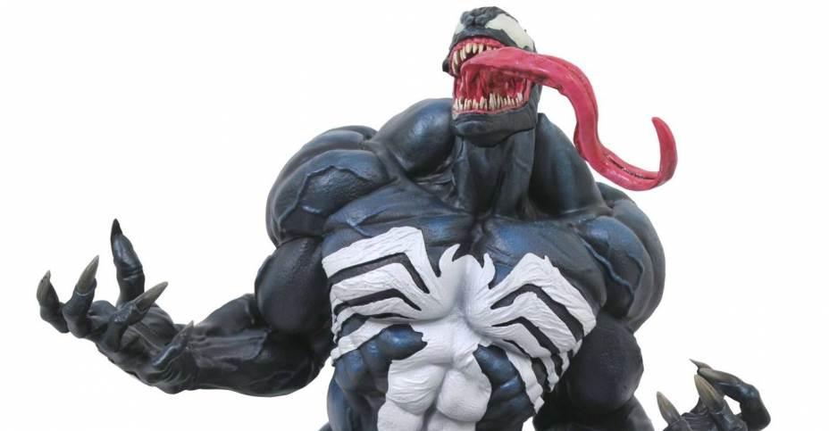 Infinite Earths Diamond Select Toys Announces New Venom Statue
