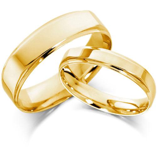 Gold Wedding Rings Sets