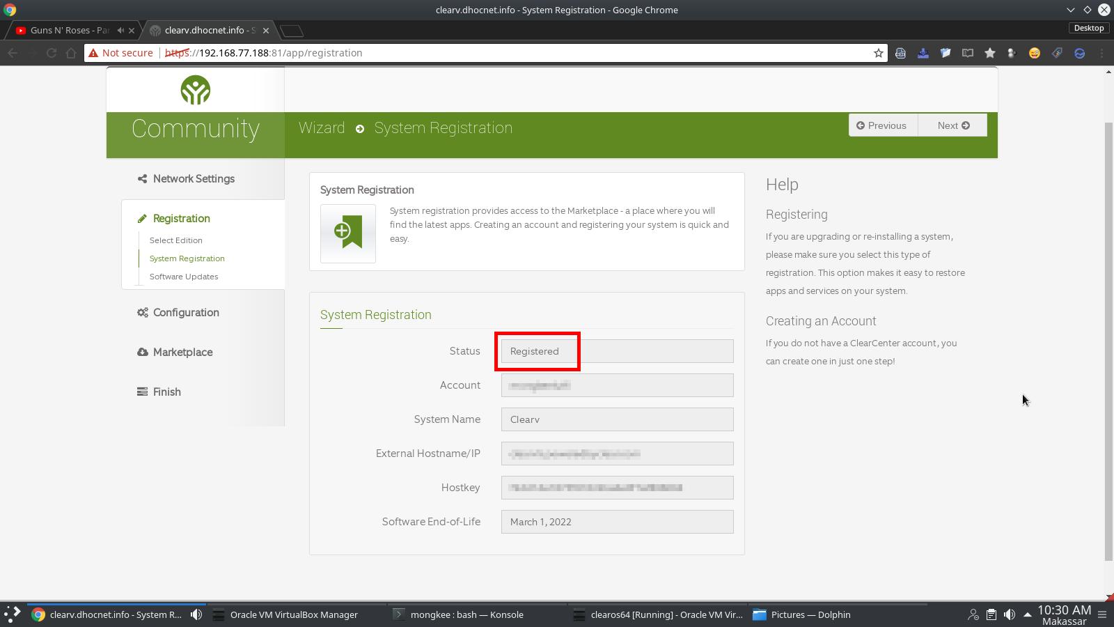 Instalasi ClearOS 7 Linux Community Edition – Konfigurasi Lanjutan