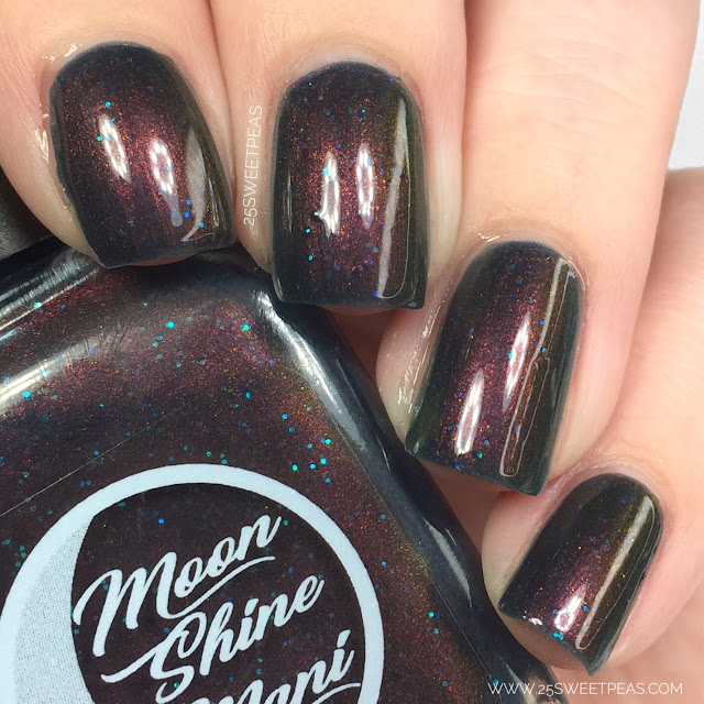 Moon Shine Mani And There Was Much Rejoicing