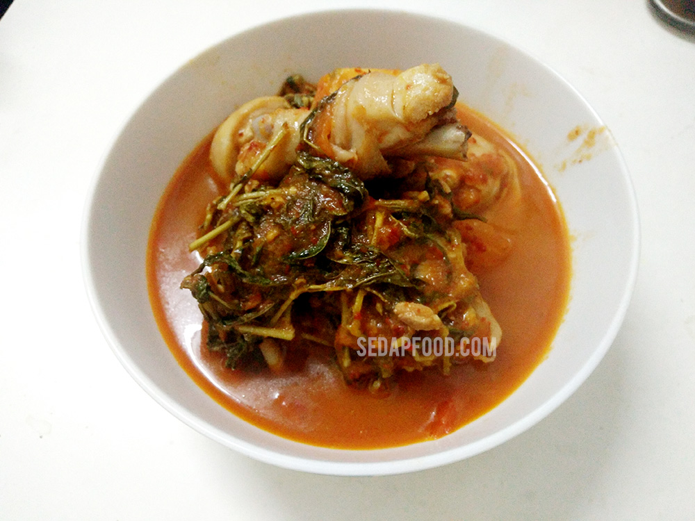 Masak Asam Pedas Ayam, Resepi Ni Simple Gila