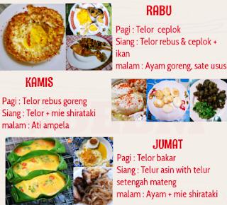 Tips Diet Debm Seminggu