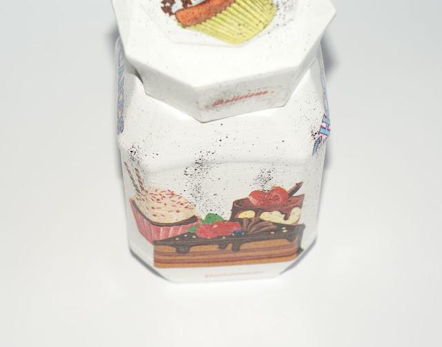 słodki motyw decoupage-babeczki decoupage-babeczkowy motyw