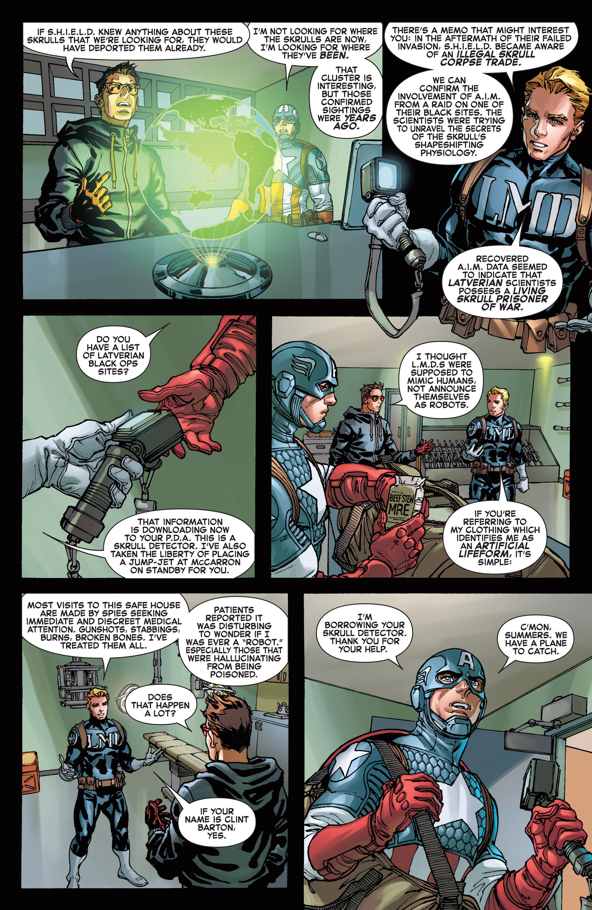 Read online A X comic -  Issue #14 - 15