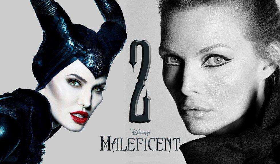 أنجلينا جولي في الفيلم المنتظر مالفيسنت Maleficent 2 ميشيل فايفر