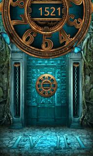 на земле написаны числа, которые являются кодом для открытия дверей