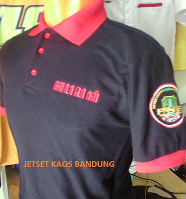 tempat Konveksi Pusat Pembuatan Kaos sablon POLO SHIRT Murah Bandung