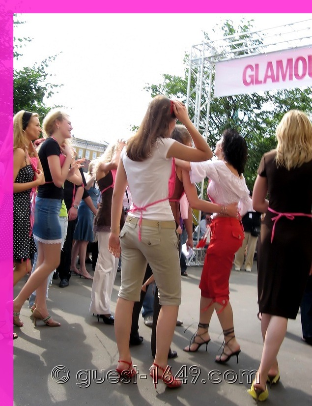 Glamour Stiletto Run 2006, Moscow