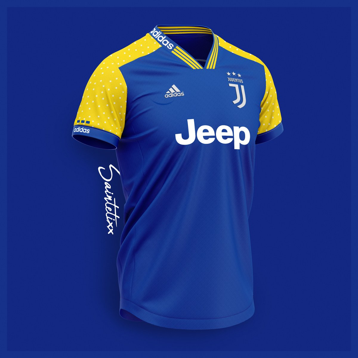 0fcdf169f Away. Inspired by Juventus  blue ...