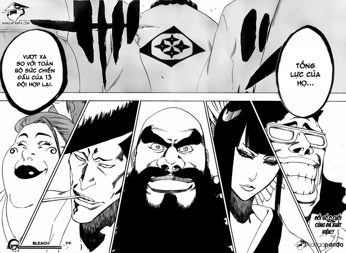 Bleach chapter 515 trang 17