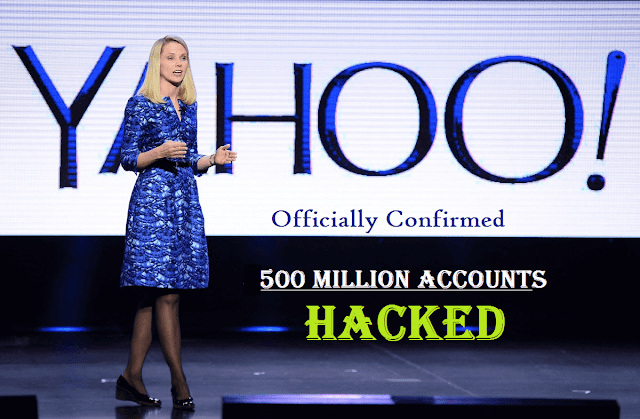 Yahoo Officially Confirms 500 Million User Accounts Got Hacked