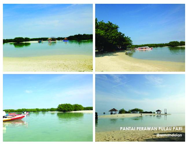 Pantai Perawan Pulau Pari Kep Seribu