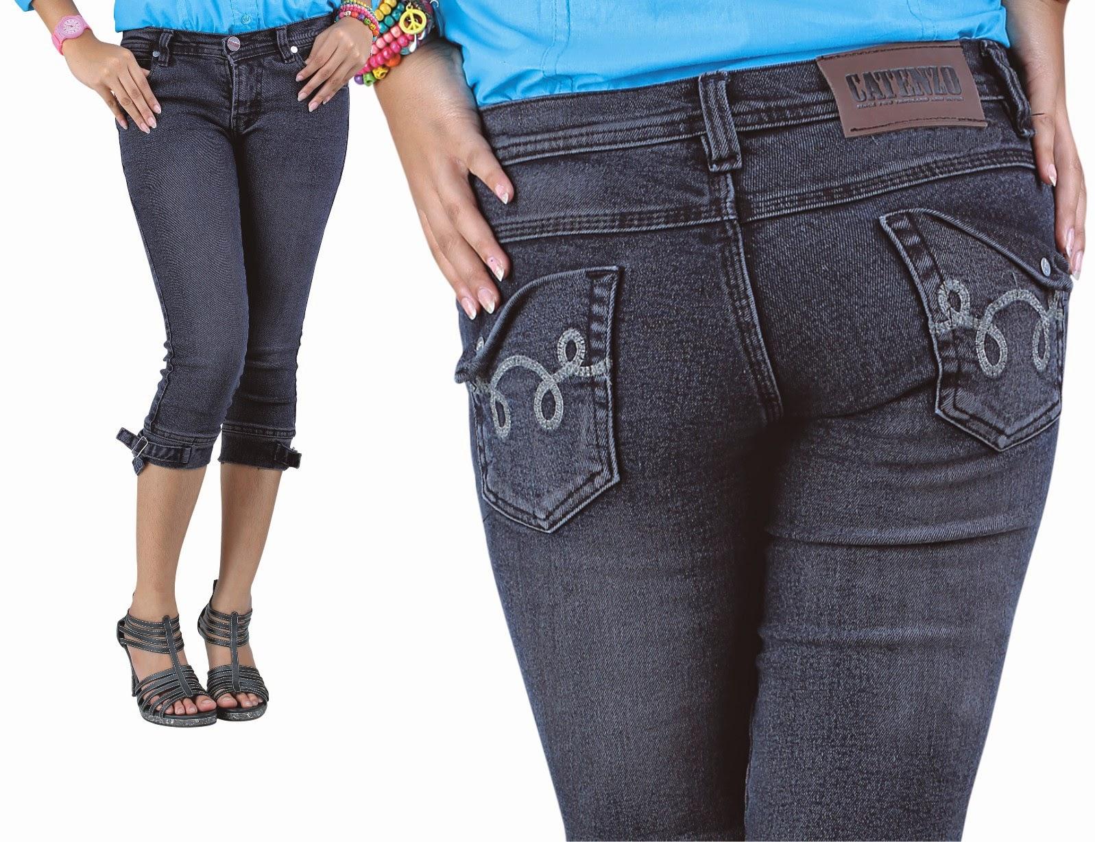 Celana Levis Wanita Model Terbaru Jaman Sekarang Pendek Catenzo Jeans Original