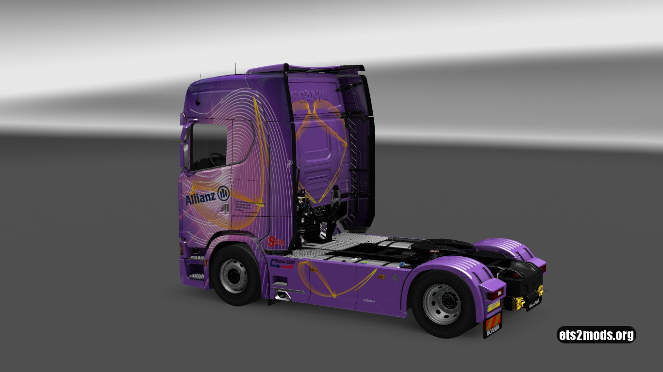 Allianz Skin for Scania S580