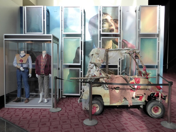 Swiss Army Man movie costumes car prop exhibit