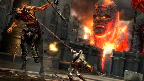 God Of War: Ghost Of Sparta (EUR) PSP ISO Screenshots #1