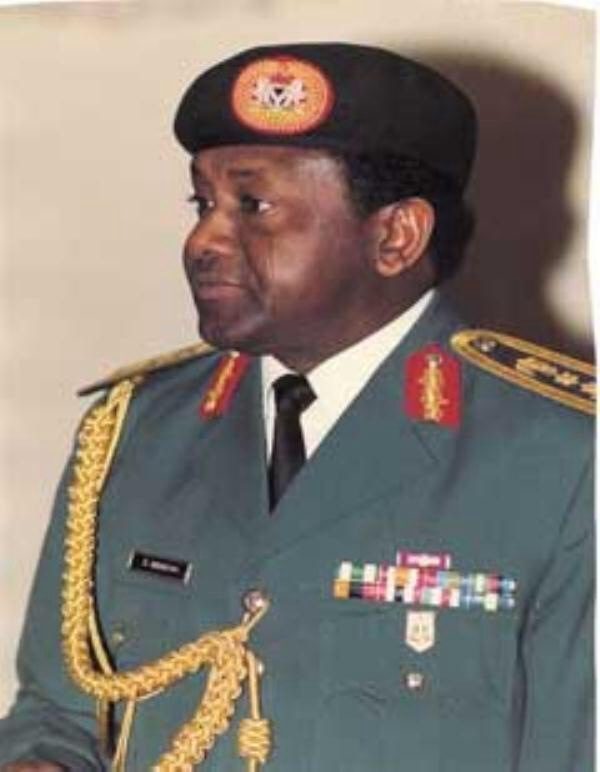 General Sani Abacha, 10th President of Nigeria