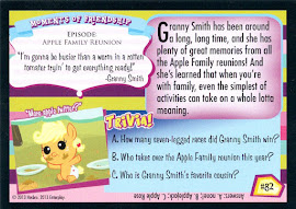 My Little Pony Sweet Apple Memories Series 2 Trading Card