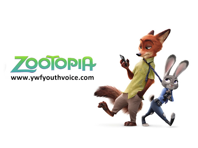 Zootopia Poster, Judy Hopps Pulling Nick Wilde, Zootopia Full Movie Review